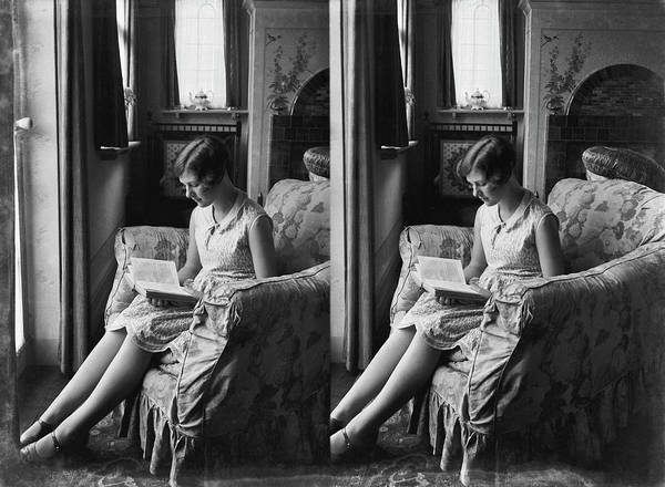 Armchair Photograph - Stereo Lady by Epics