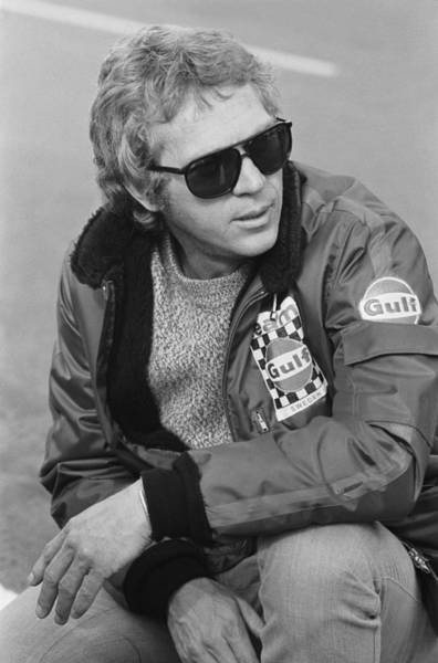 France Photograph - Steve Mcqueen - 30th Anniversary Of His by Keystone-france