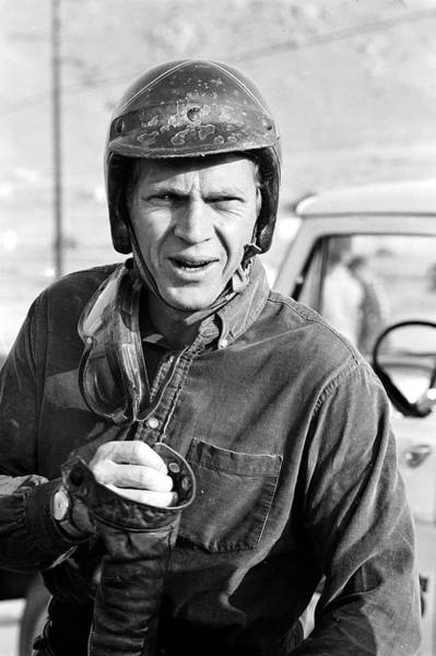 Photograph - Steve Mcqueen by John Dominis
