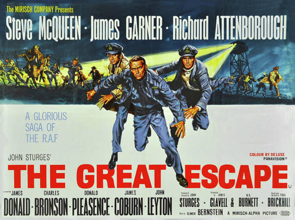 Photograph - Steve Mcqueen - The Great Escape by Doc Braham