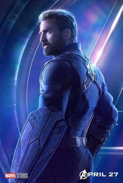 Steve Rogers Captain America Art Print