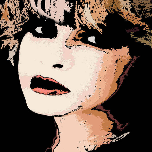 Stevie Nicks Digital Art - Stevie by Jolene