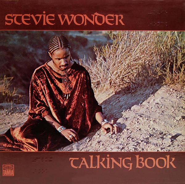 Photograph - Stevie Wonder Album Cover by Robert VanDerWal