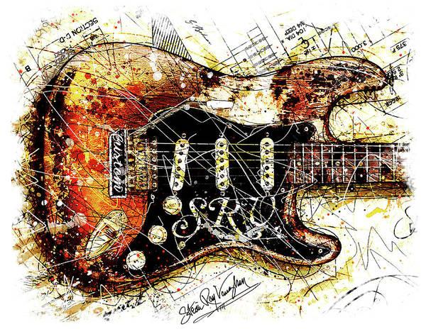 Wall Art - Digital Art - Stevie's Axe V2 by Gary Bodnar
