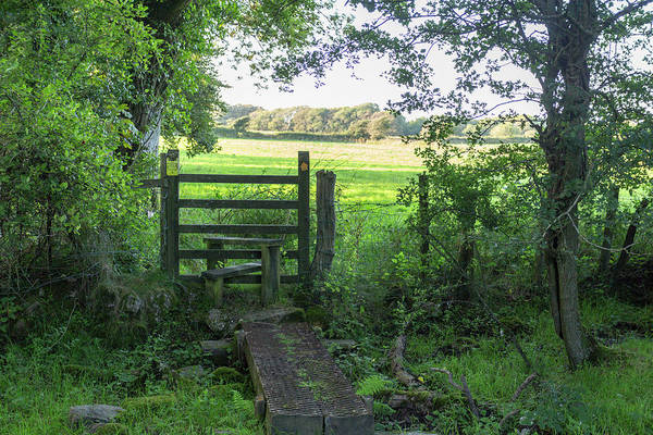 Photograph - Stile Between Fields In Britain by Paul Cowan