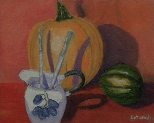 Still Fall Life Art Print