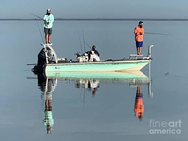 Photograph - Still Fishing by AnnaJo Vahle