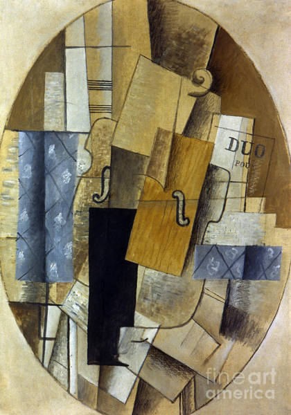 Wall Art - Painting - Still Life, 1914 by Georges Braque