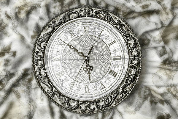 Photograph - Still Life Clock by Sharon Popek