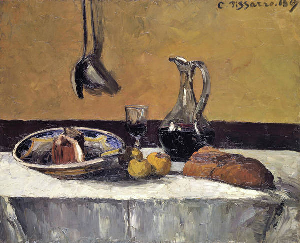Wall Art - Painting - Still Life - Digital Remastered Edition by Camille Pissarro