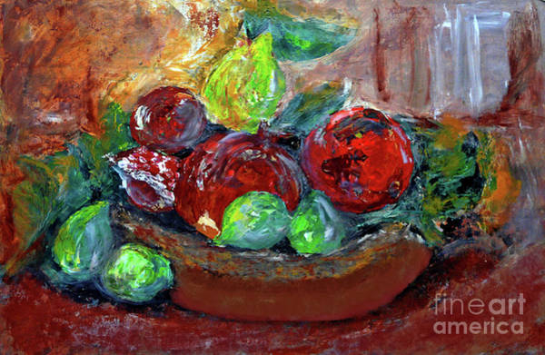 Wall Art - Painting - Still Life - Full Of Life by Jasna Dragun