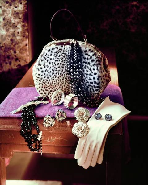 Photograph - Still Life Of Accessories by Horst P. Horst