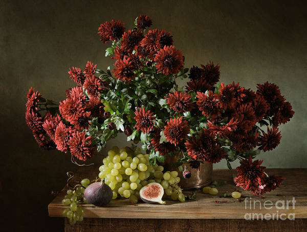 Delicious Wall Art - Photograph - Still Life With A Bunch Of by Irina Mosina