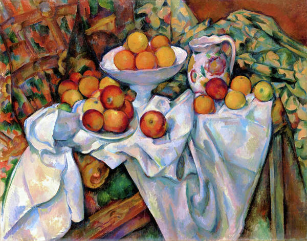 Wall Art - Painting - Still Life With Apples And Oranges - Digital Remastered Edition by Paul Cezanne