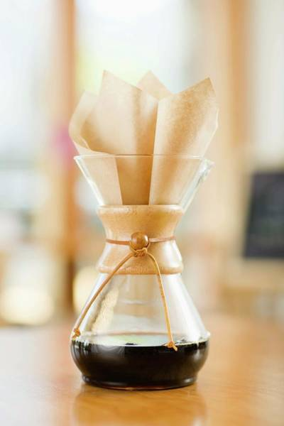 Coffee Photograph - Still Life With Chemex Coffeemaker by Jupiterimages