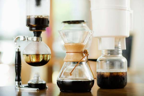 Coffee Photograph - Still Life With Chemex Coffeemakers by Jupiterimages