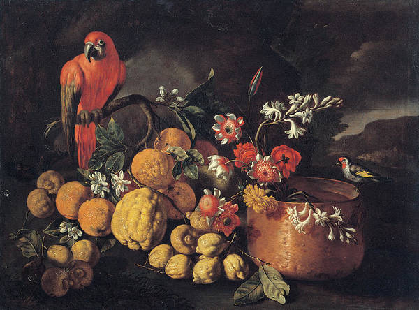 Painting - Still Life With Citrus Fruits, Copper by Mondadori Portfolio