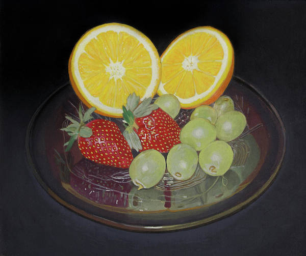 Painting - Still Life With Fruit by Bert Ernie