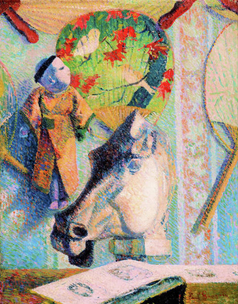 Wall Art - Painting - Still Life With Horse's Head - Digital Remastered Edition by Paul Gauguin