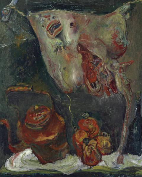 Wall Art - Painting - Still Life With Rayfish, 1923 by Chaim Soutine