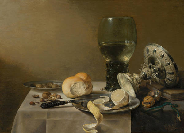 Painting - Still Life With Tazza by Pieter Claesz