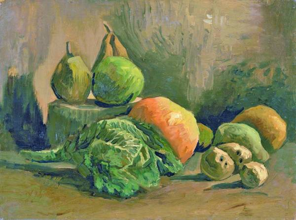 Wall Art - Painting - Still Life With Vegetables And Fruit - Digital Remastered Edition by Vincent van Gogh