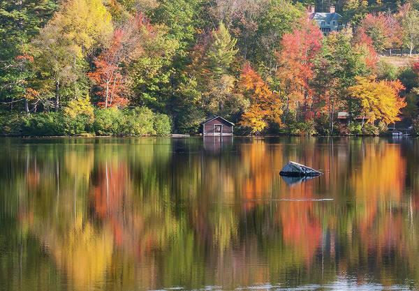 Wall Art - Photograph - Still Reflection On Little Lake by Jeff Folger