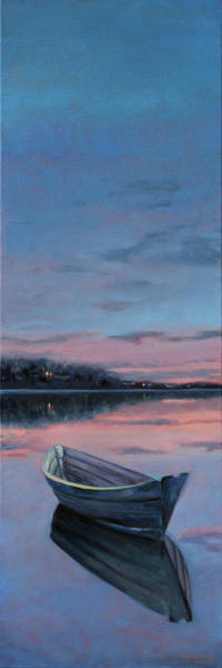 Painting - Still Waters by Trina Teele