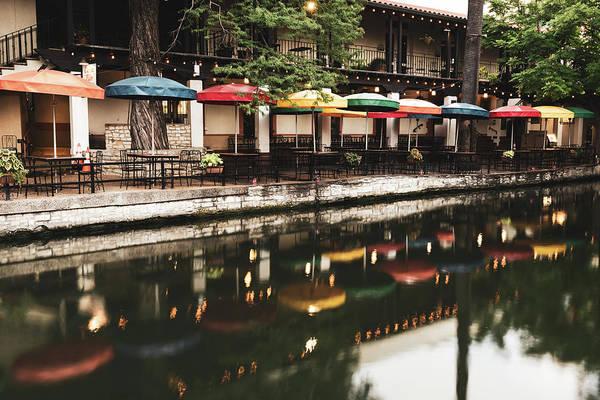 Photograph - Stillness Along The San Antonio Texas Riverwalk by Gregory Ballos