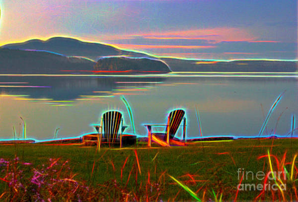 Photograph - Stillness Digital by Patti Whitten