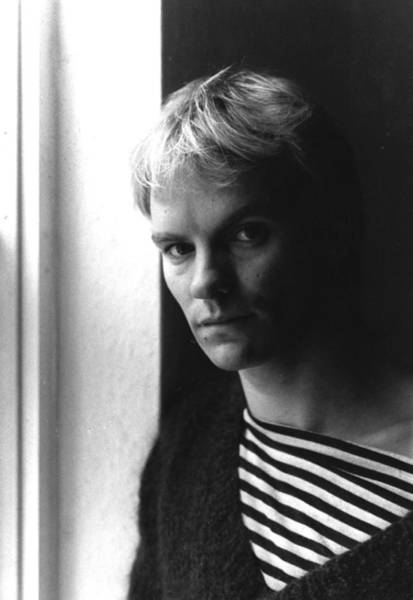 New Wave Music Photograph - Sting by Evening Standard