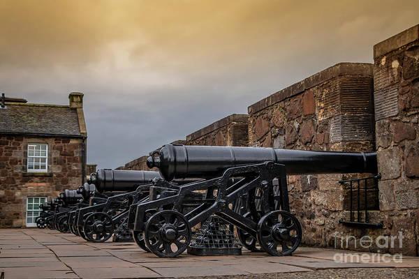 Wall Art - Photograph - Stirling Castle Canons by Elizabeth Dow