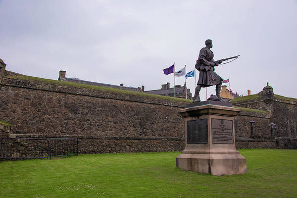 Photograph - Stirling Scotland - Stirling Castle by Bill Cannon