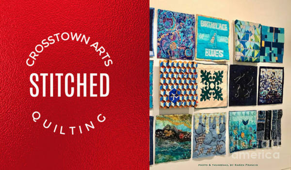 Wall Art - Digital Art - Stitched Quilting Exhibit by Karen Francis