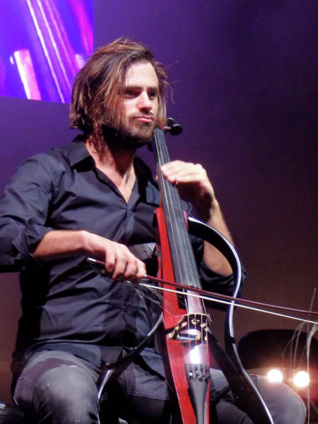Photograph - Stjepan Hauser Concentration by James Peterson
