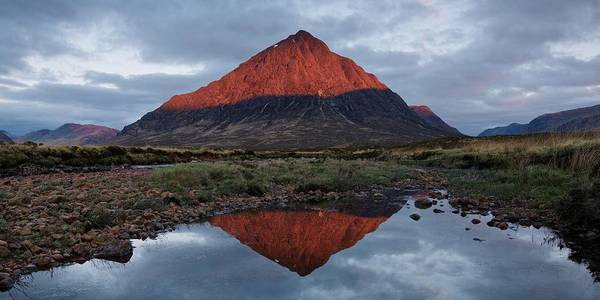 Photograph - Stob Dearg Super Sunrise by Stephen Taylor