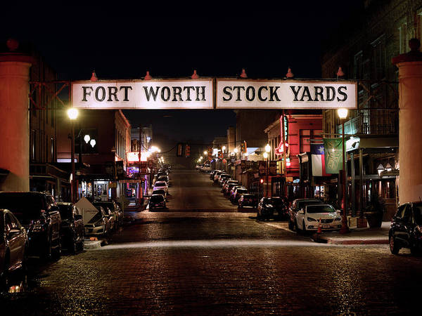 Photograph - Stock Yards Fort Worth 042519 by Rospotte Photography
