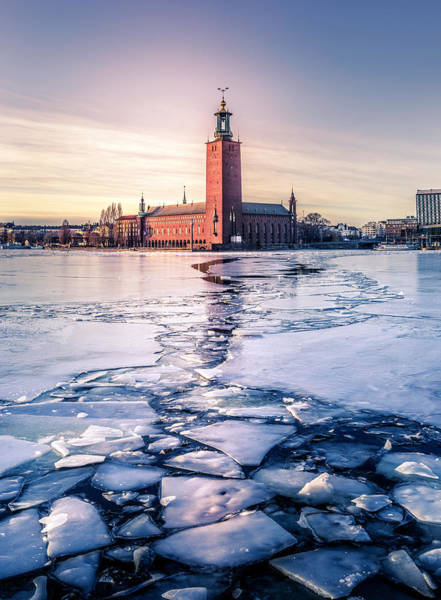 Wall Art - Photograph - Stockholm City Hall In Winter by Nicklas Gustafsson