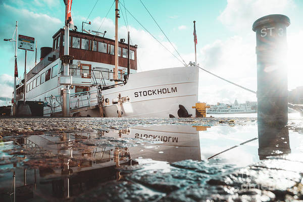Wall Art - Photograph - Stockholm Harbor by JR Photography