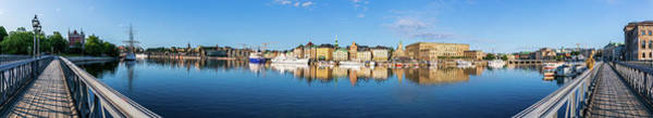 Wall Art - Photograph - Stockholm Old City Fantastic Golden Hour Sunrise Reflection In The Baltic Sea by Dejan Kostic