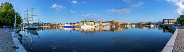 Wall Art - Photograph - Stockholm Old City Sunrise Reflection In The Baltic Sea by Dejan Kostic