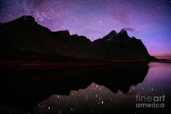 Wall Art - Photograph - Stokksnes Stars by Jamie Pham