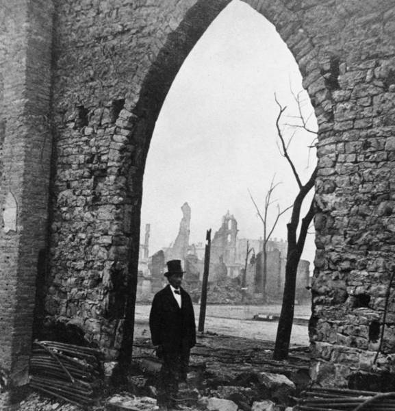 Wall Art - Photograph - Stone Arch Of Church After Chicago by Lightfoot