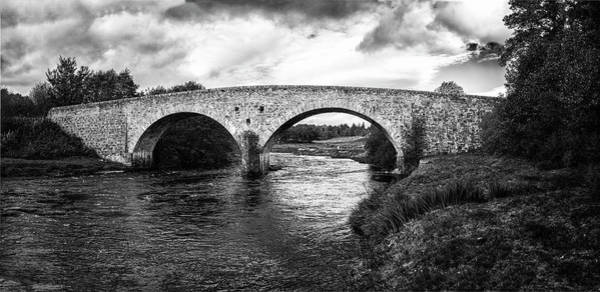 Wall Art - Photograph - Stone Bridge Across River Cassley by Panoramic Images