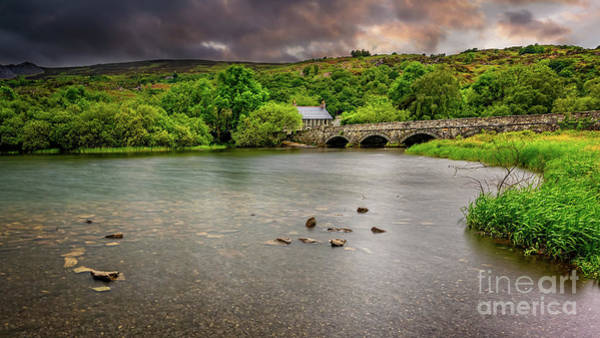 Wall Art - Photograph - Stone Bridge Llanberis Wales by Adrian Evans