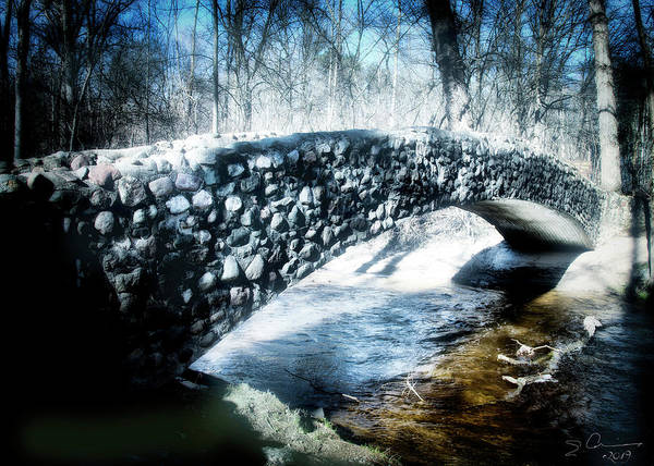Photograph - Stone Bridge Michigan by Evie Carrier