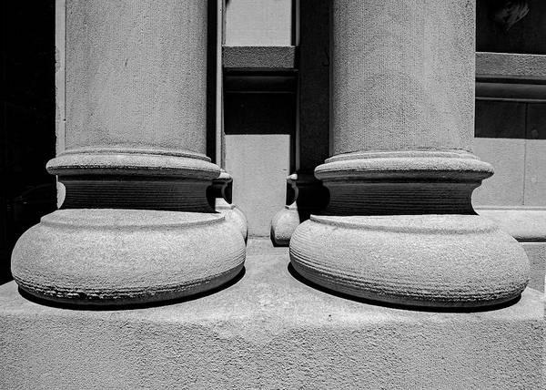 Photograph - Stone Columns  by Robert Ullmann