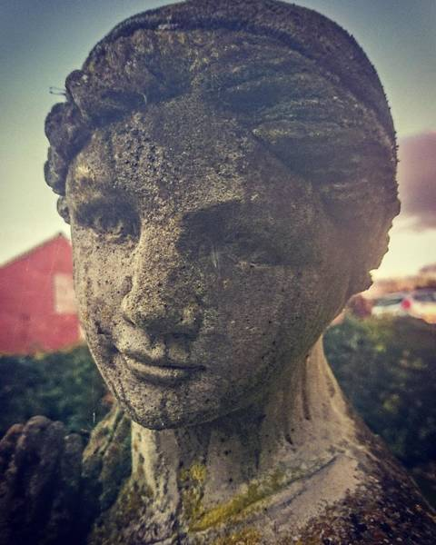 Photograph - Stone Lady by Samuel Pye