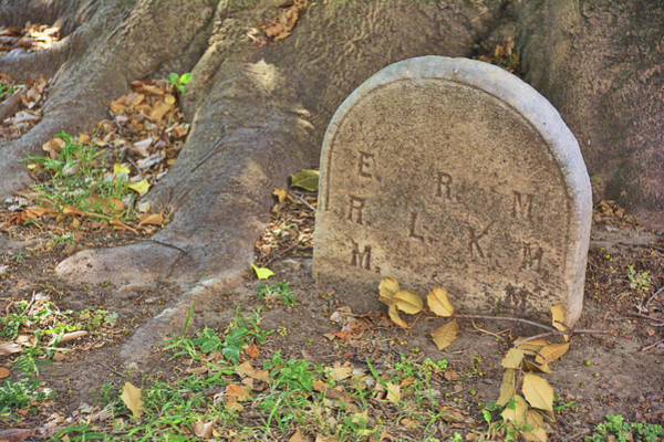 Photograph - Stone Marker by JAMART Photography