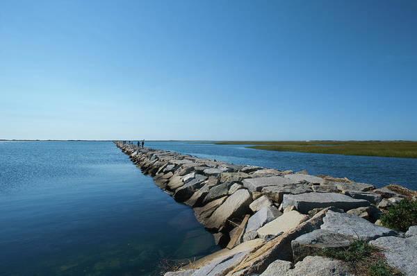 Pier Photograph - Stone Pier by © Bill Weston